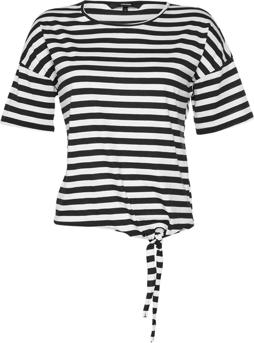 Блузка женская Vero Moda, цвет: черный. 10193576. Размер M (44) блузка женская vero moda цвет черный 10187780 black размер 42 44