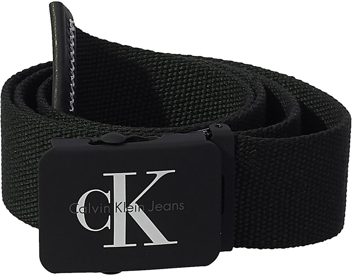 Ремень мужской Calvin Klein Jeans, цвет: черный. K50K503673/001. Размер 95