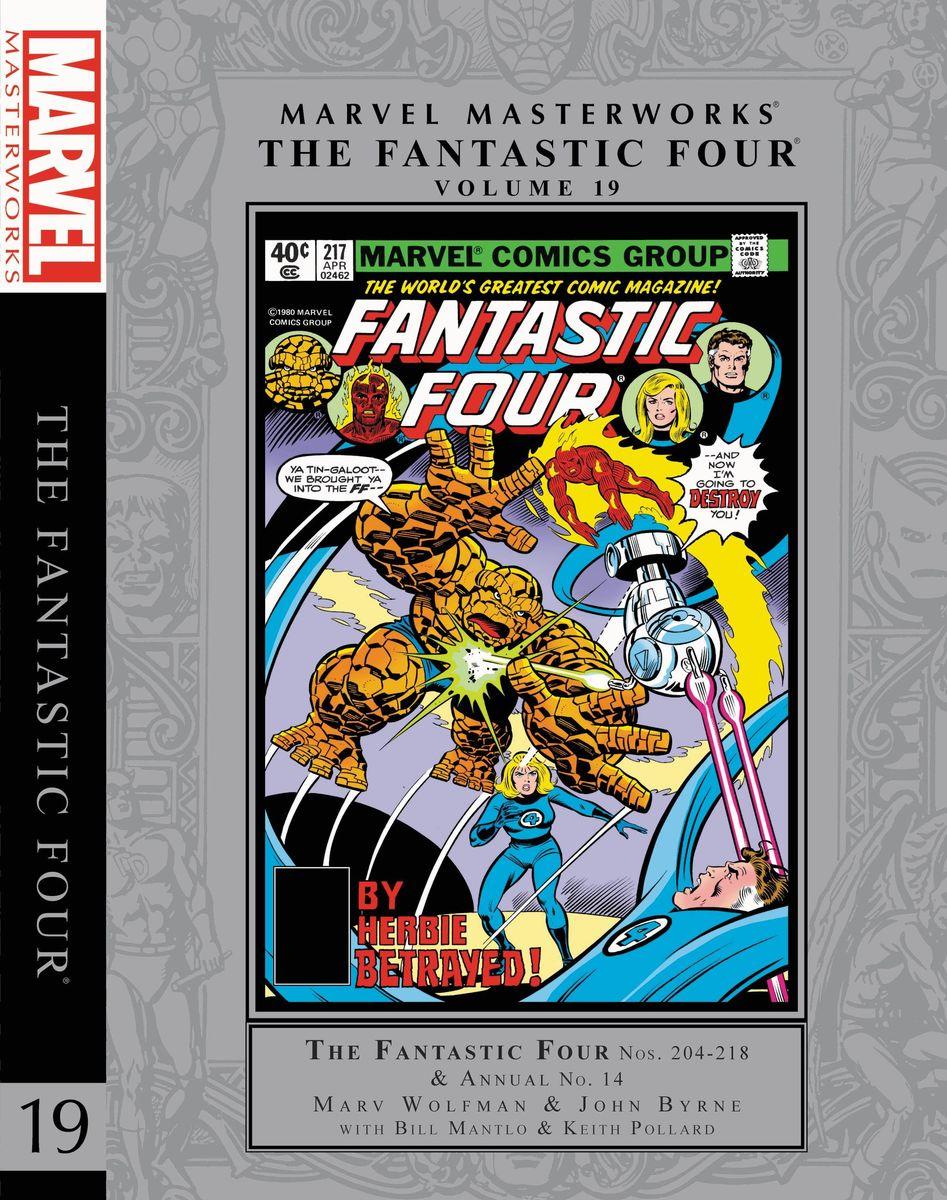 Marvel Masterworks: The Fantastic Four Vol. 19 книги эксмо безумная звезда the light fantastic