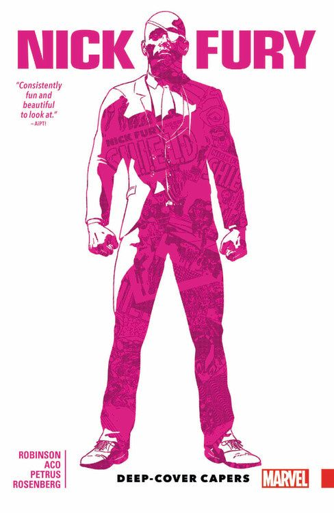 Nick Fury: Deep-Cover Capers the sound and the fury