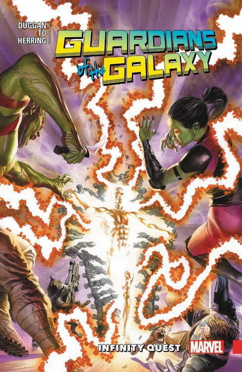 All-New Guardians of the Galaxy Vol. 3: Infinity Quest майка классическая printio guardians of the galaxy vol 2