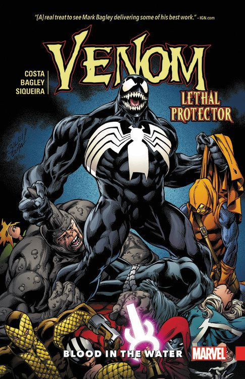 Venom Vol. 3: Lethal Protector - Blood in the Water last templar vol 3 the the sunken church