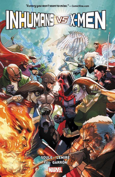 Inhumans vs. X-Men new mutants