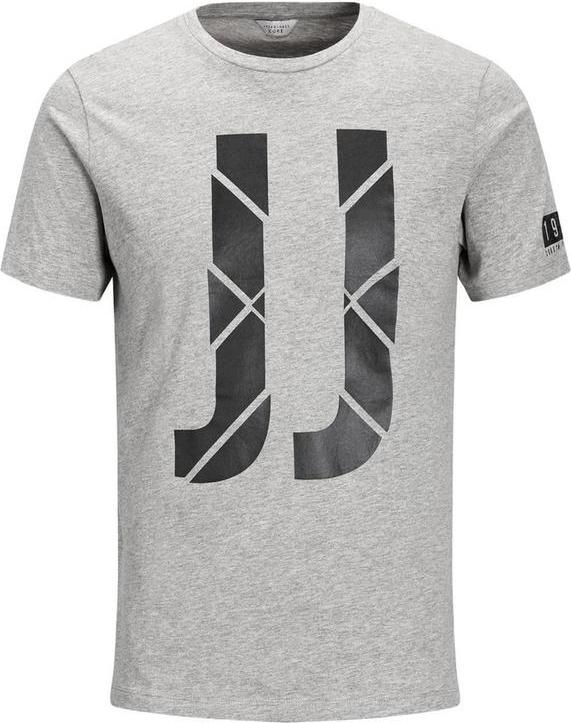 Футболка мужская Jack & Jones, цвет: серый. 12131515. Размер XL (52)12131515