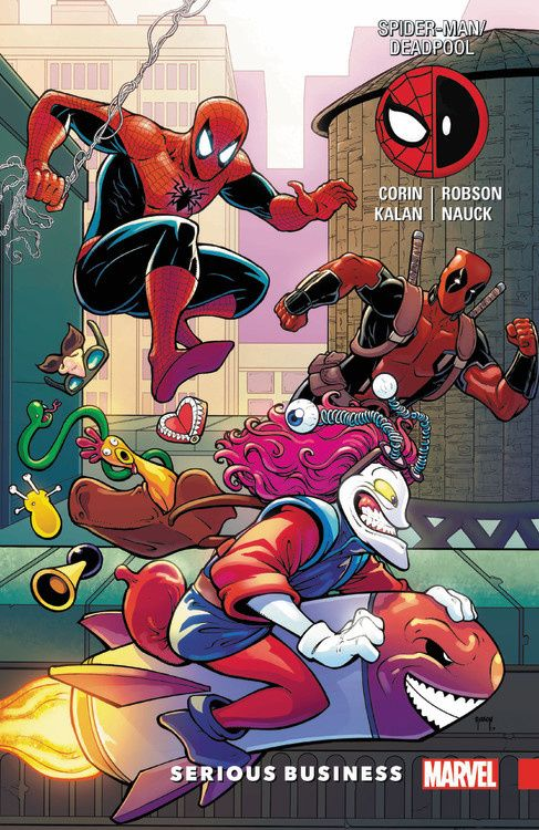 Spider-Man Deadpool Vol. 4: Serious Business driven to distraction