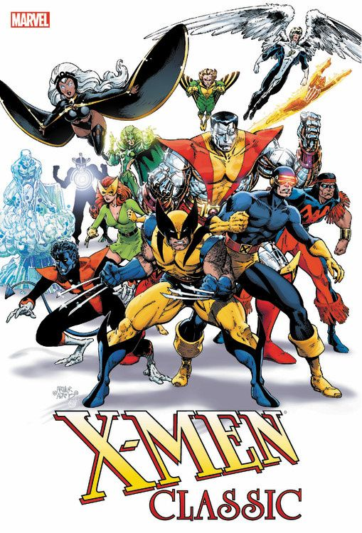 X-Men Classic Omnibus the canterbury tales a selection