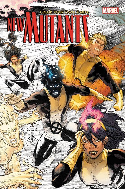 Color Your Own X-Men: The New Mutants new mutants