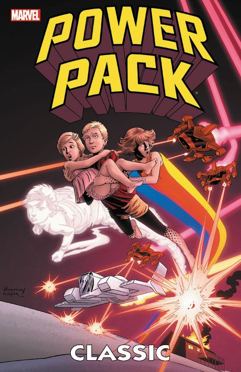 Power Pack Classic Vol. 1 new mutants