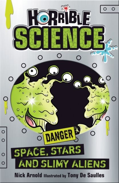 Horrible Science: Space, Stars and Slimy Aliens toys in space