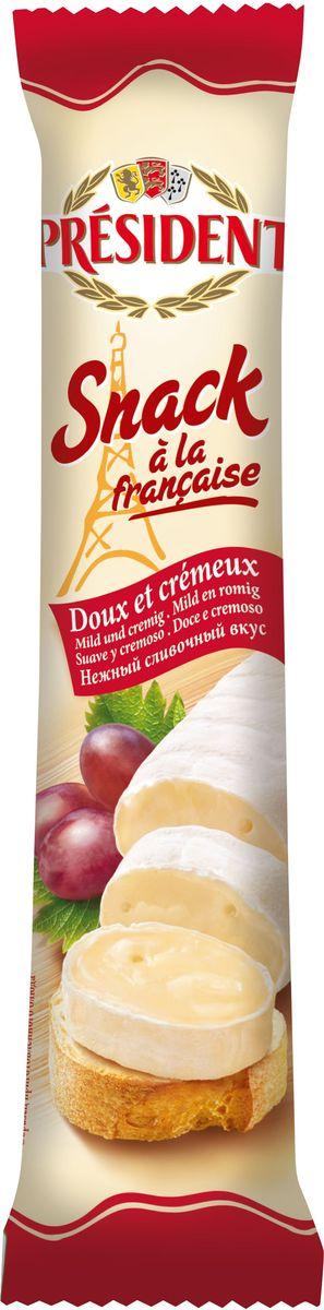 President Сыр Snack a la Francaise мягкий 60%, 170 г пюре бабушкино лукошко пюре мясо цыплят с гречкой с 6 мес 100 г