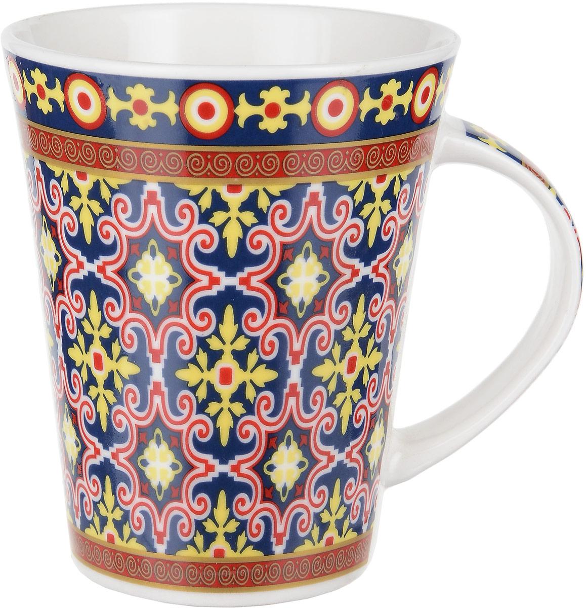 """Кружка Ningbo Royal """"Бухара"""" выполнена из фарфора высшего качества.  Такая кружка не только порадует своей практичностью, но  и станет приятным сувениром для ваших близких. А  оригинальное оформление кружки добавит ярких эмоций."""
