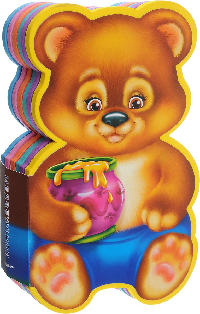 Медвежонок. Книжка с мягкими пазлами