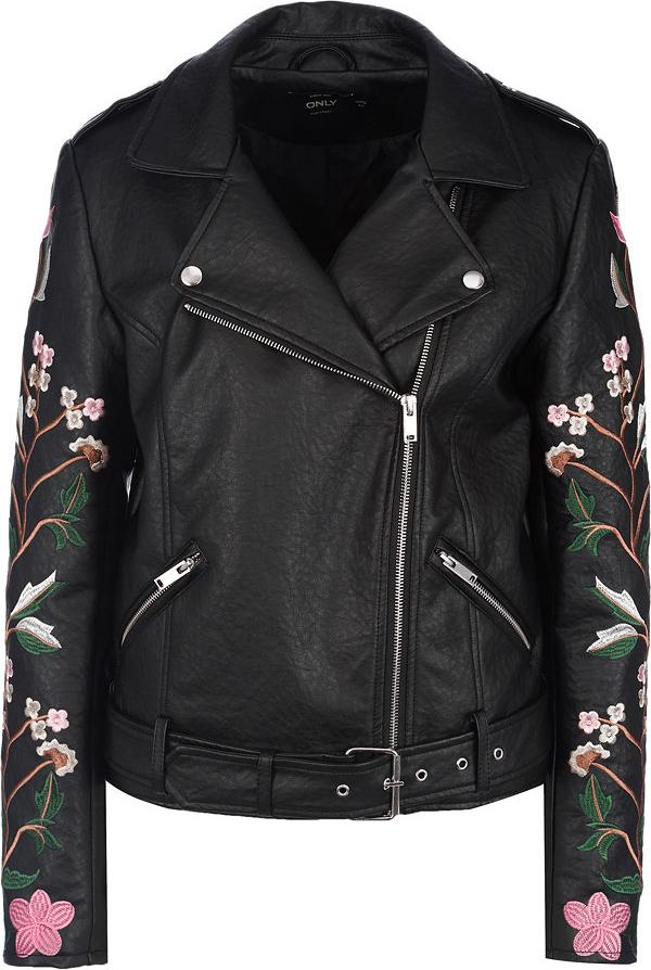 Купить Куртка женская Only, цвет: черный. 15153573. Размер 40 (46)