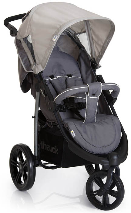 Hauck Коляска прогулочная 3-х колесная Viper SLX Smoke Grey коляска 3 в 1 hauck shopper slx trioset stone grey