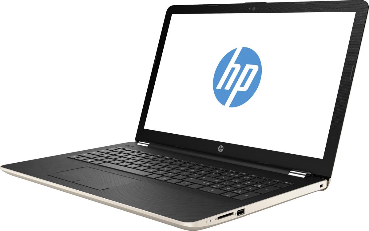 HP 15-bs000ur, Silk Gold (1PA61EA)512766Стильный ноутбук HP 15-bs000ur помимо выполнения повседневных задач, поможет вам оставаться на связи весь день. Благодаря неизменно высокой производительности и длительному времени работы от аккумулятора вы можете с комфортом пользоваться Интернетом, вести потоковое вещание и оставаться на связи с нужнымилюдьми.Процессор Intel Pentium N3710 обеспечивает неизменно высокую производительность, которая необходима для работы и развлечений. Надежность и долговечность ноутбука позволят легко выполнять все необходимые задачи.Развлекайтесь и оставайтесь на связи с друзьями и семьей благодаря превосходному дисплею Full HD и камере HD. Кроме того, с этим ноутбуком ваши любимые музыка, фильмы и фотографии будут всегда с вами.Продуманная конструкция и замечательный дизайн этого ноутбука HP с дисплеем диагональю 39,6 см (15,6) идеально подойдут для вашего образа жизни. Изящное оформление, оригинальное покрытие добавят немного цвета в будни.Точные характеристики зависят от модификации.Ноутбук сертифицирован EAC и имеет русифицированную клавиатуру и Руководство пользователя
