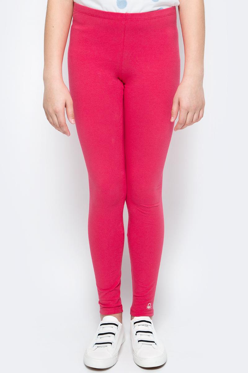 Леггинсы для девочки United Colors of Benetton, цвет: красный. 3MT1I0640_01L. Размер 160