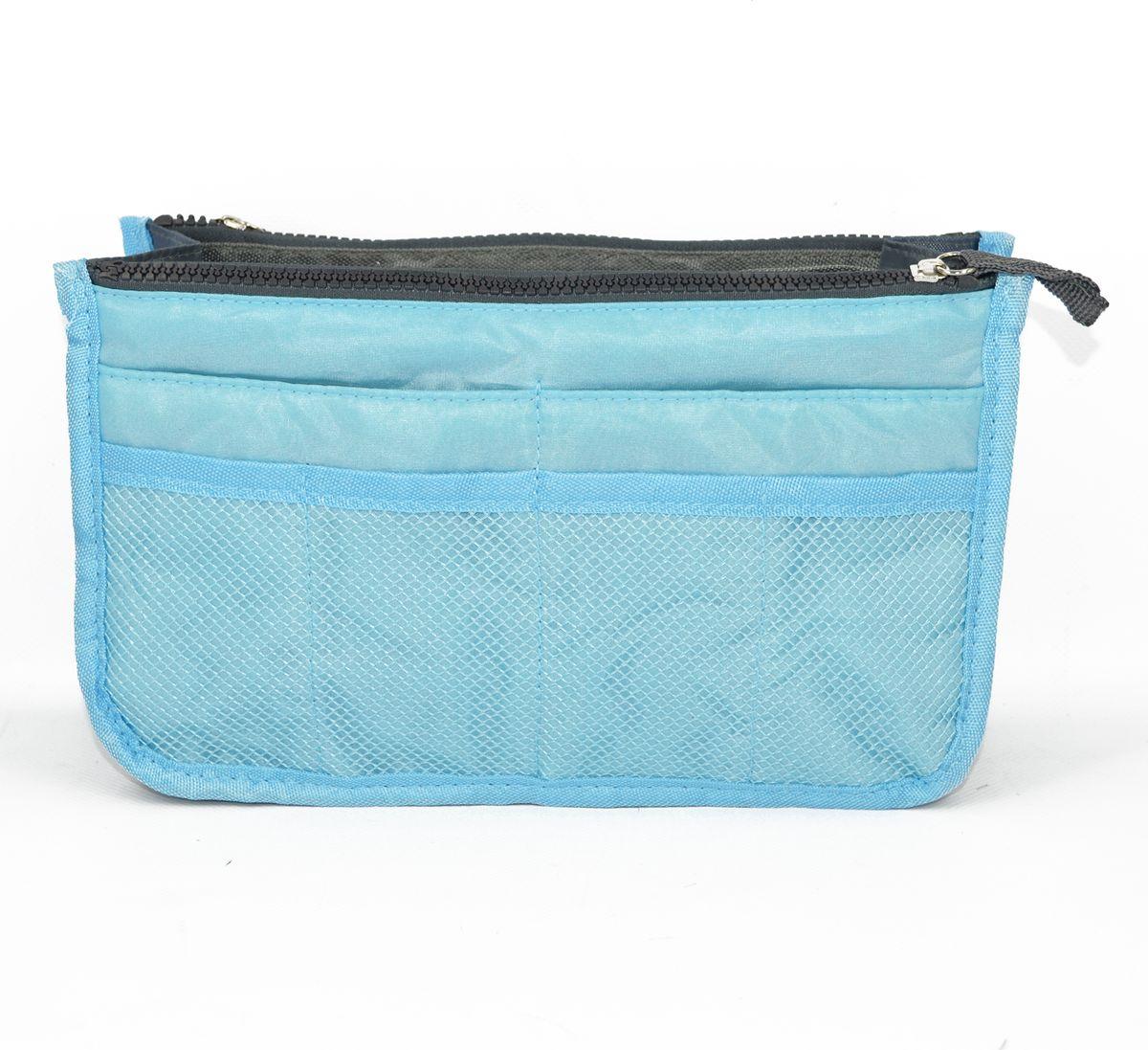 Органайзер-вкладыш для сумочки женский Kingth Goldn, цвет: голубой. УТ-00000348