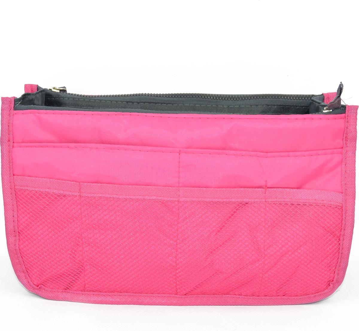 Органайзер-вкладыш для сумочки женский Kingth Goldn, цвет: розово-красный. УТ-00000349