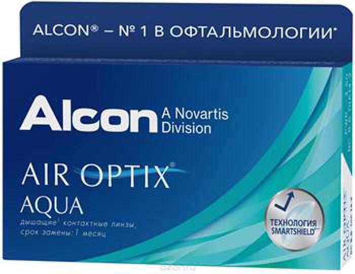 Alcon-CIBA Vision контактные линзы Air Optix Aqua (3шт / 8.6 / 14.20 / -2.75)12176Air Optix Aqua являются революционными силикон-гидрогелевыми новейшими контактными линзами от производителя, известного во всем мире - Ciba Vision. Когда началась разработка этих линз, то в качестве основы взяли известные линзы предшествующего поколения. Их доработала команда профессионалов, учитывая новые технологии и возможности. Как и предшествующая модель, эти линзы сделаны из расчета месячного ношения. Производят линзы из нового материала лотрафикон В, показывающего отличный результат по содержанию влаги и по проводимости кислорода. Линзы можно носить как в дневное время (в течение тридцати дней), так и для пролонгированного применения в течение 6 суток. Но каким бы режимом вы не воспользовались при их ношении - на протяжении всего месяца линзы будут следить за вашими глазами, подарив вам комфорт и увлажненность. Технологии Aqua Moisture - это комплексные меры от известной фирмы Ciba Vision, которые используются при производстве линз. Во-первых, в них входит революционный увлажняющий агент, препятствующий высыханию линзы, делая их для глаз совсем незаметными. Во-вторых, запатентованный материал поможет поддержать на высоком уровне увлажненность, поэтому носить линзы на протяжении всего времени, довольно комфортно. В-третьих, отполированные поверхности линзы придают идеальное скольжение. Кроме этого линза довольно устойчива к отложениям и всяческим загрязнениям. Как и линза предшествующего поколения, Air Optix Aqua имеет довольно высокую кислородопроводность - 138 Dk/L. Данный показатель значительно больше, чем у других конкурентов. Новейшие представленные линзы навсегда оградят вас от сухости и дискомфорта! Характеристики:Материал: лотрафикон В. Кривизна: 8.6. Оптическая сила: - 2.75. Содержание воды: 33%. Диаметр: 14,2 мм. Количество линз: 3 шт. Размер упаковки: 9 см х 5 см х 1,3 см. Производитель: США. Товар сертифицирован.Уважаемые клиенты! Обращаем ваше внимание на то, что упа