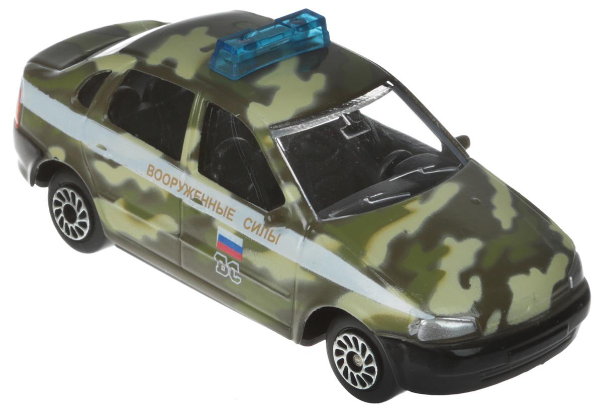 ТехноПарк Автомобиль Lada 2110 Вооруженные силы машинки toystate машинка toystate