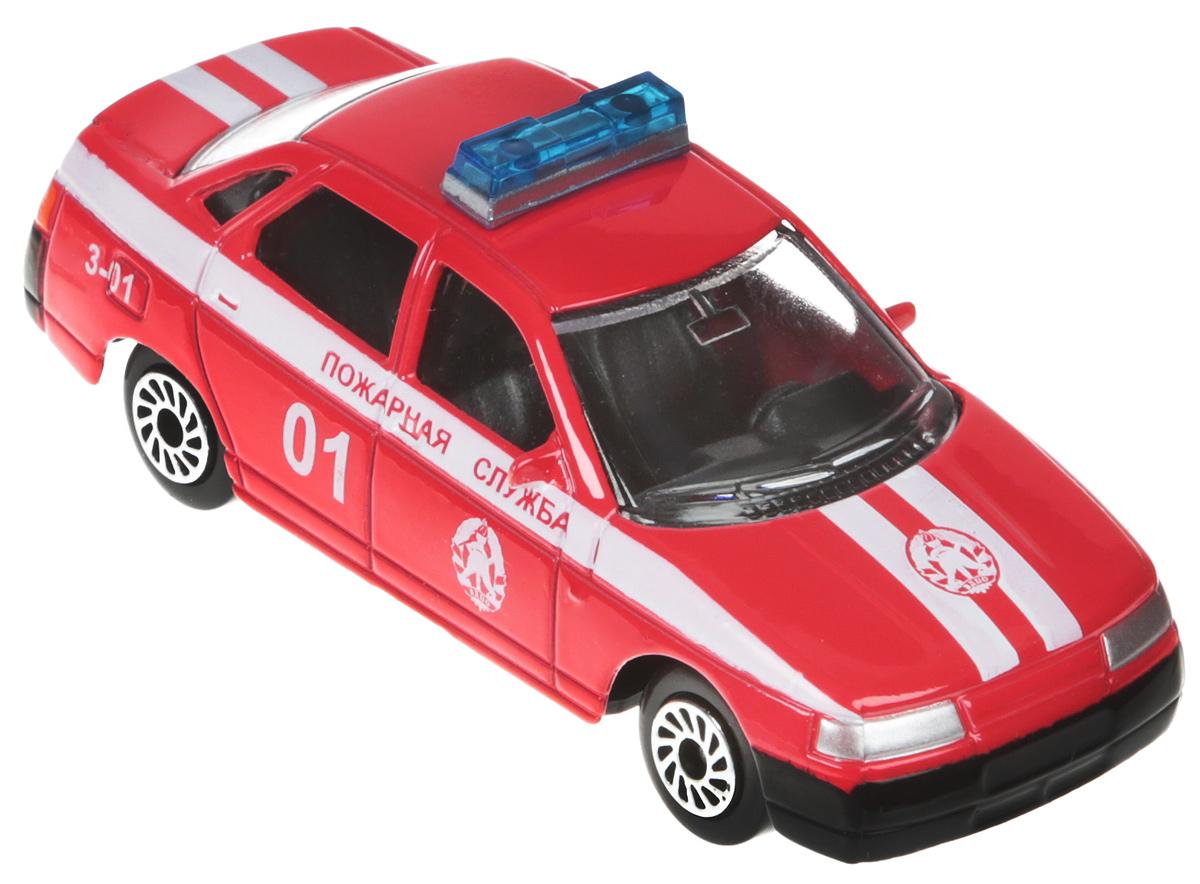 ТехноПарк Машинка Лада 2110 Пожарная служба