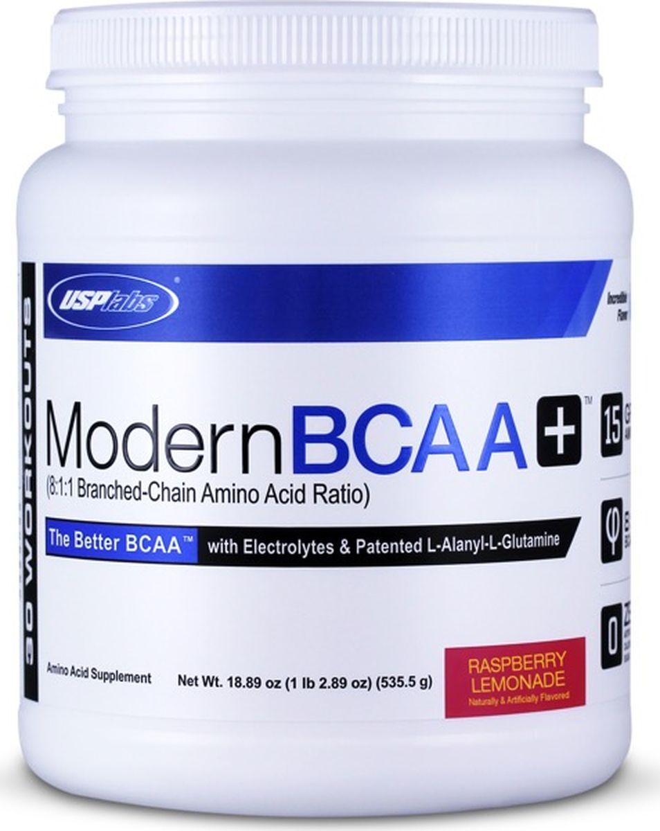 Комплекс аминокислот USPlabs Modern BCAA+ , малиновый лимонад, 535 г