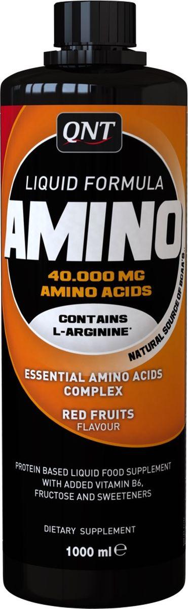 QNT Аминокислотный комплекс, жидкий, 1000 млQNT1129Чтобы укрепить физическую форму всех тех, кто интенсивно тренируется, в этой добавке содержатся все аминокислоты (незаменимые и заменимые) производные белка молочной сыворотки. Препарат производится в жидкой форме, в которой аминокислоты находятся в их свободном состоянии, то есть быстрее усваиваются, он незаменим спортсменам для укрепления мышечной ткани, уставшей от тренировки, и в качестве «топлива» при долговременных нагрузках.