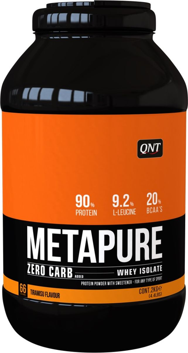 Изолят QNT Metapure Zero Carb, тирамису, 2 кг