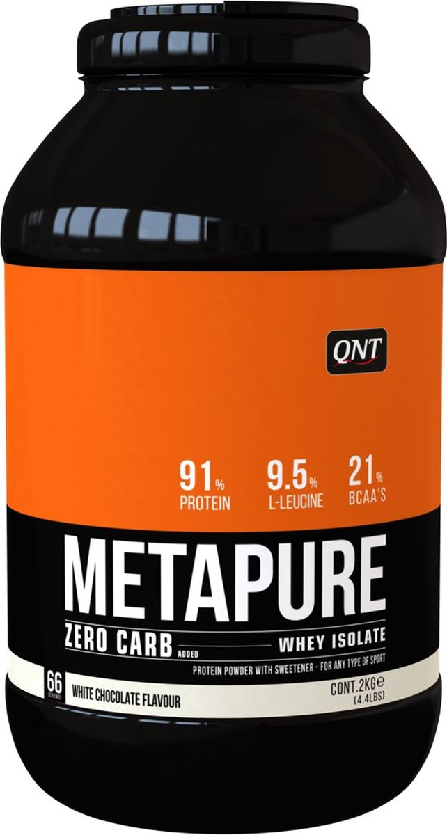 Изолят QNT Metapure Zero Carb, белый шоколад, 2 кг