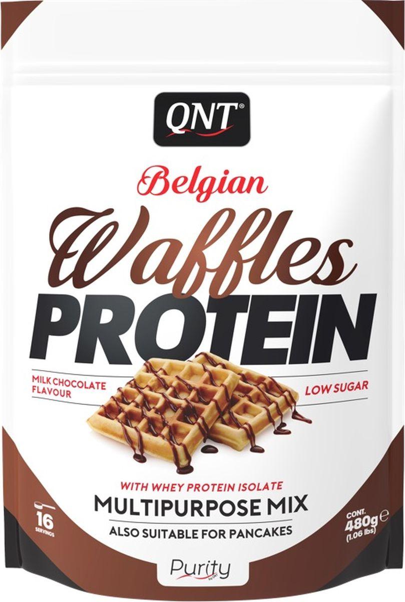 Вафли протеиновые QNT