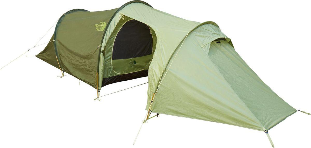 Палатка The North Face, 2-х местная, цвет: хаки. T92SCEM9Q палатка the north face the north face heyerdahl double cab зеленый 2 местная