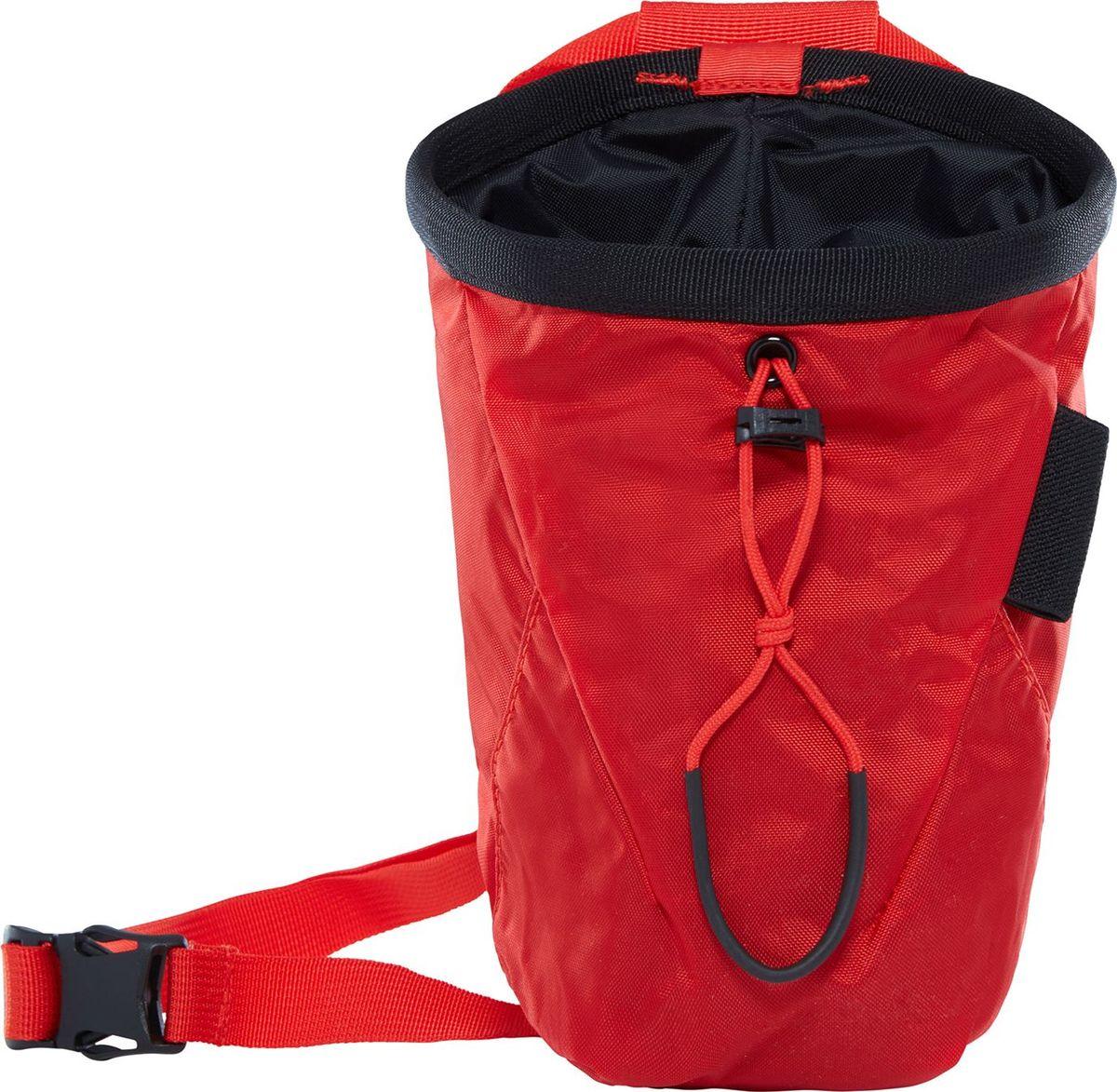Мешок для магнезии The North Face Chalk Bag Pro, цвет: красный. T93BXYWU5T93BXYWU5Прочный, но легкий мешочек для магнезии с карбоновым покрытием. Небольшой карман намолнии для мелочей.
