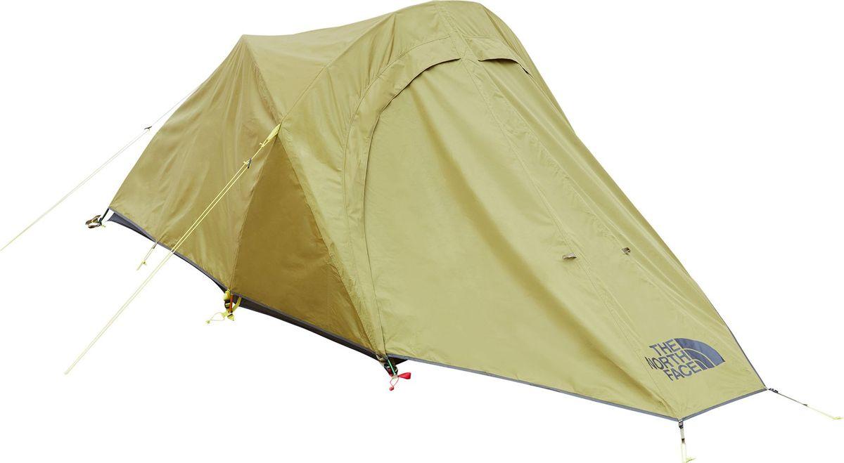 Палатка The North Face, 2-х местная, цвет: хаки. T93G7L21L