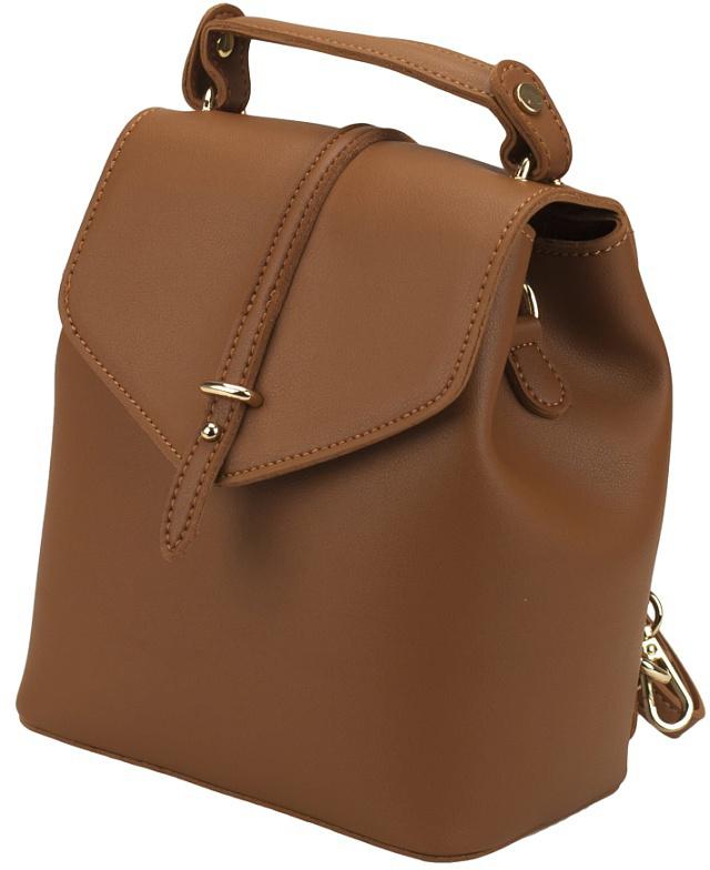 Рюкзак женский DDA, цвет: коричневый.  LB-2010BR