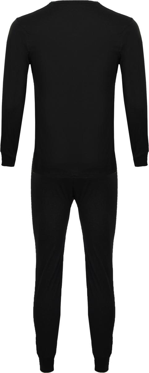 Комплект термобелья мужской Серебряный пингвин: лонгслив, кальсоны, цвет: черный. С-6051-К. Размер 44С-6051-КБелье нательное функциональное прилегающего силуэта, состоит из лонгслива с длинными рукавами и кальсон. Трикотажное полотно, используемое для пошива белья, изготовлено из 100% хлопковых нитей. Переплетение тонких и мягких волокон кулирной гладью делает полотно гладким, приятным на ощупь. Белье рекомендовано использовать в холодное время года для обычных прогулок, ежедневной носки, для охоты, рыбалки, а также для сна. Изготовлено из экологически чистого сырья, имеет высокую воздухопроницаемость, гигроскопично, не требует особого ухода.