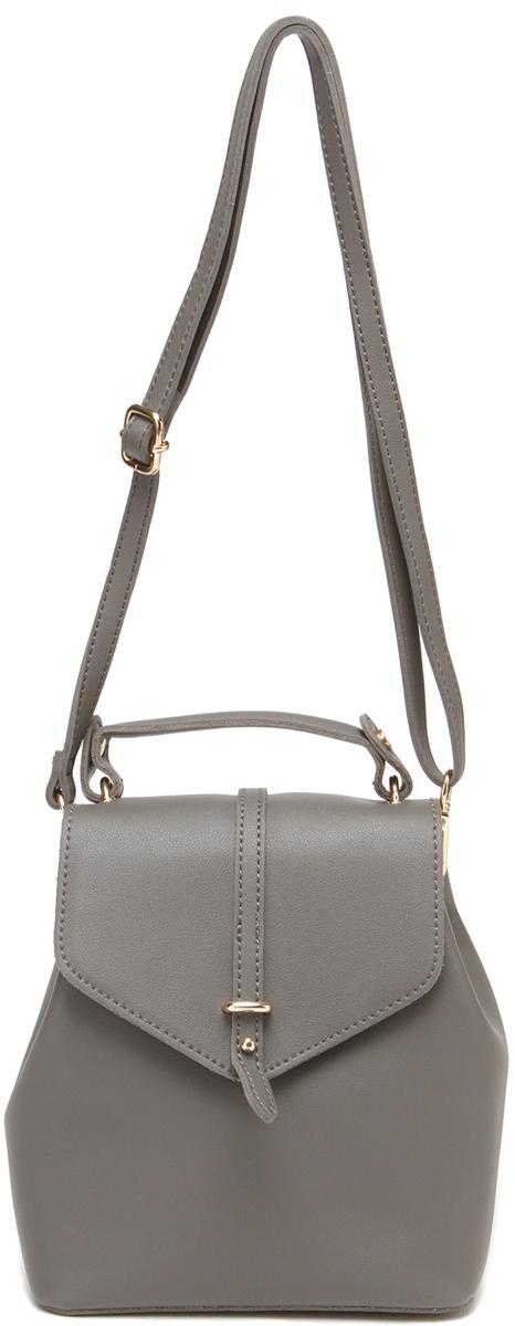 Рюкзак женский DDA, цвет: серый. DDA LB-2012GR