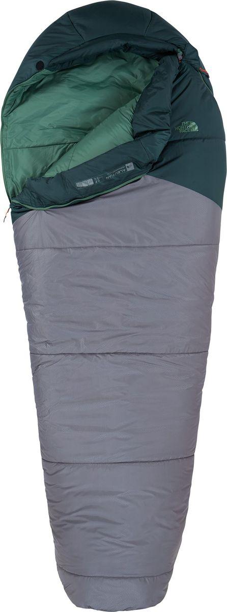 Спальный мешок The North Face Aleutian 0/-18, цвет: синий. T92SBOSCYRH LNGT92SBOSCYRH LNGПростая и удобная конструкция хорошо подходит для зимнего лагеря. Aleutian - теплый спальный мешок с искусственным утеплителем Heatseeker Eco сделает ваши ночевки комфортными до -18С. Если температура высокая, тогда полностью расстегните нижнюю часть и используйте мешок в качестве подстилки в палатке. Молния полностью расстегивает спальный мешок. Утяжка на воротнике для предотвращения потери тепла. Зауженная ножная часть. Температурный показатель: 0°F / -18°C. Температура комфорта: 15°F/ -9°C Нижний предел комфорта: 1°F/ -17°C Размер в свернутом виде Long: 28 x 58 см. Рост человека Long: 198 см. Вес Long: 2919 г.