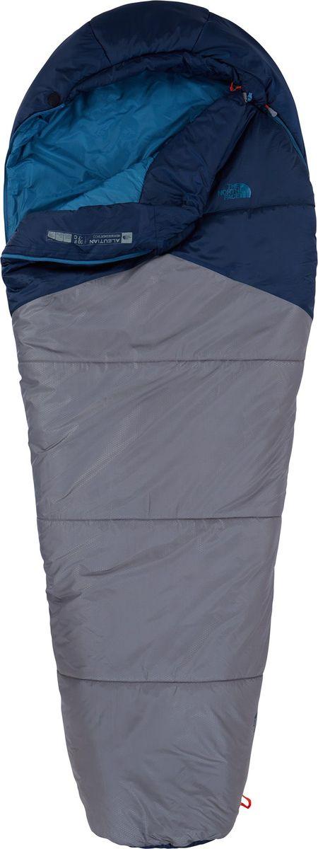 Спальный мешок The North Face Aleutian 20/-7, цвет: синий. T92SBPT7KLH LNGT92SBPT7KLH LNGПростая и удобная конструкция хорошо подходит для зимнего лагеря. Aleutian - теплый спальный мешок с искусственным утеплителем Heatseeker Eco сделает ваши ночевки комфортными до -18С. Если температура высокая, тогда полностью расстегните нижнюю часть и используйте мешок в качестве подстилки в палатке. Молния полностью расстегивает спальный мешок. Утяжка на воротнике для предотвращения потери тепла. Зауженная ножная часть. Температурный показатель: 20°F / -7°C. Температура комфорта: -1°C Нижний предел комфорта: -7°C Температура экстрима: -24°C Утеплитель: Heatseeker Eco. Размер в свернутом виде: 25 х 46 см. Рост человека Reg/Long: 183/198 см. Вес Reg/Long: 1786/1956 г.