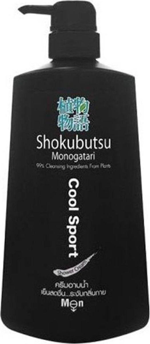 Shokubutsu Крем-гель для душа мужской Lion Energizing Cool Sport, 500 мл024458Крем-гель для душа Lion Shokubutsu мужской Energizing Cool Sport, 500 мл. Серия крем-гелей для мужчин Shokubutsu Monogatari - серия нежных крем-гелей для душа японской марки Lion, произведенные в Тайланде под строгим контролем. Крем-гели имеют высокое качество и производятся на основе натуральных ингредиентов, 90 % активных очищающих компонентов являются натуральными растительными экстрактами. Крем-гели для душа Shokubutsu мягко очищают кожу, питают ее, дарят коже нежность, приятный аромат и чувство первозданной чистоты. Крем-гель образует нежную пенку, которая легко смывается, и не только отлично очищает кожу тела, но и восстанавливает оптимальный уровень ее увлажненности, не вызывая при этом раздражения даже при самой чувствительной коже.Освежающий гель-крем для мужчин Energizing Cool Sport содержит ментол и экстракт солода, благодаря которым оказывает антибактериальное действие на кожу, успокаивает раздражения и воспаления, усиливает обменные процессы и регенерацию клеток кожи, повышает тонус, увлажняет, освежает и дарит бодрый заряд энергии, а также оставляет после себя ощущение легкого холодка.