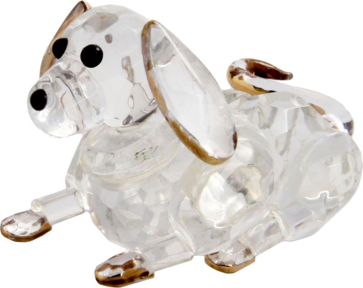 Статуэтка Собака. Хрусталь, золочение. Китай, конец XX века коровин в конец проекта украина