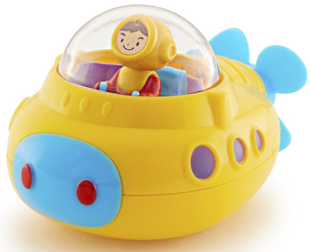 Munchkin Игрушка для ванны Подводная лодка цвет желтый голубой