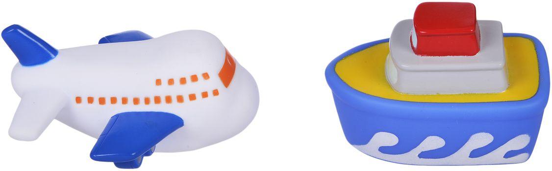 Жирафики Набор для купания Самолет и пароход игрушки для ванны жирафики набор для купания в пруду