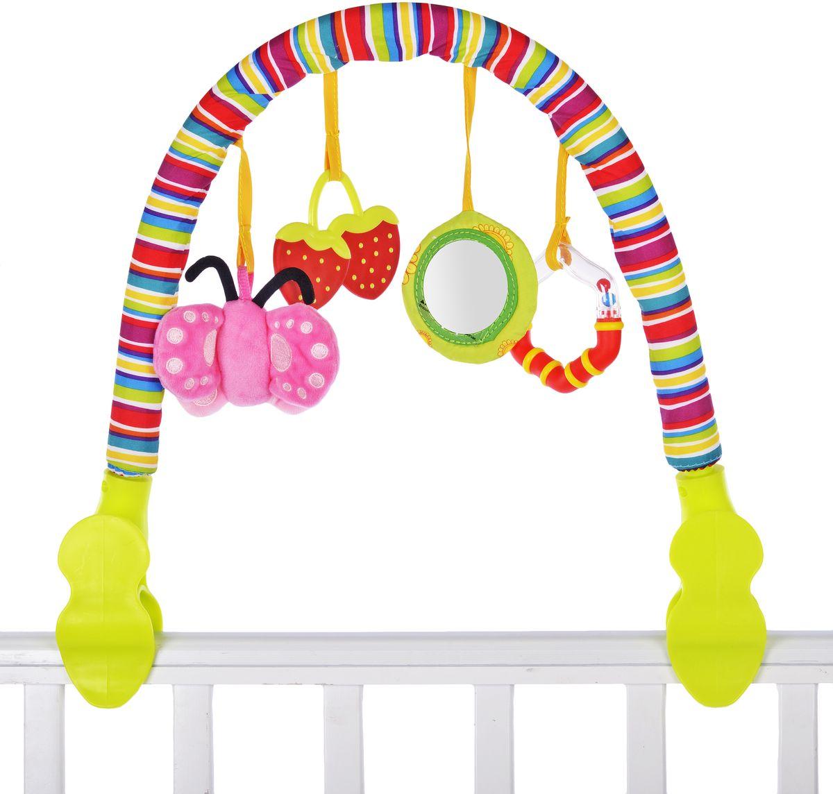 Жирафики Развивающая дуга Лето подвесные игрушки жирафики бабочка 93848