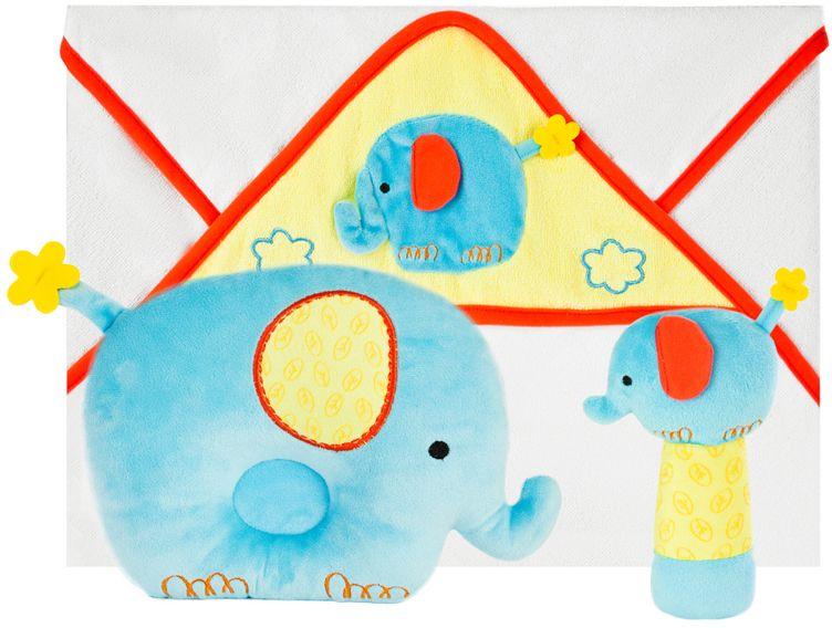 Жирафики Подарочный набор Добрый слоник 3 предмета