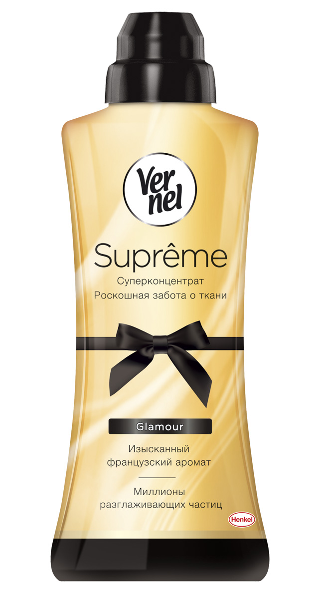 "Кондиционер для белья Vernel ""Supreme Glamour"", 600 мл"