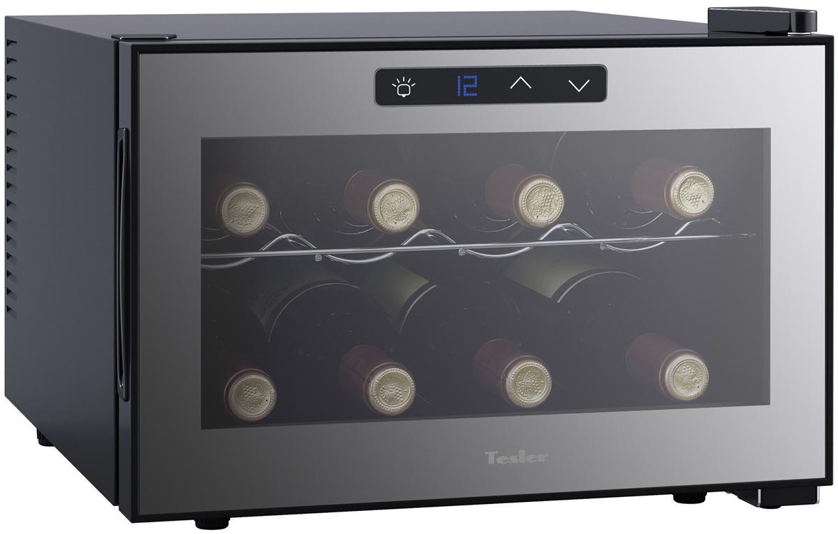 Tesler WCH-080, Black винный шкаф - Холодильники и морозильные камеры