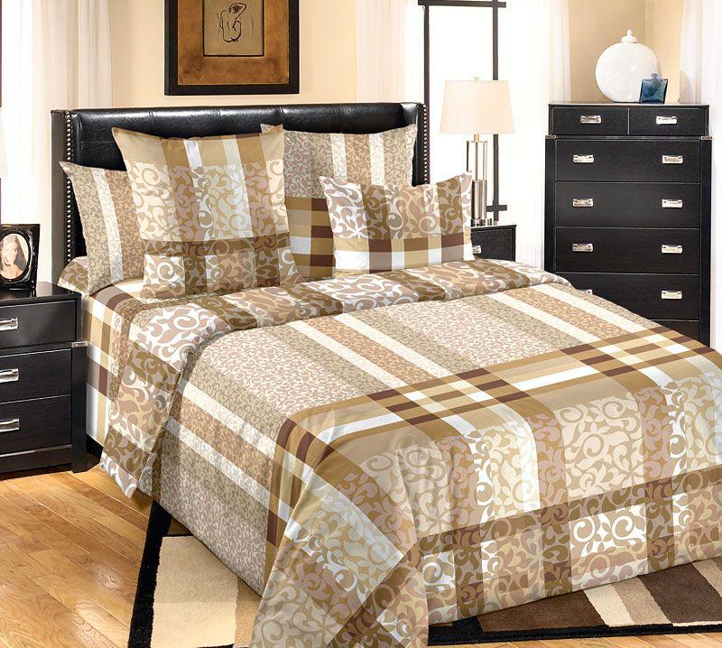 Комплект белья Текс Дизайн Бруно, 2-спальный, наволочки 70x70. 2100Б