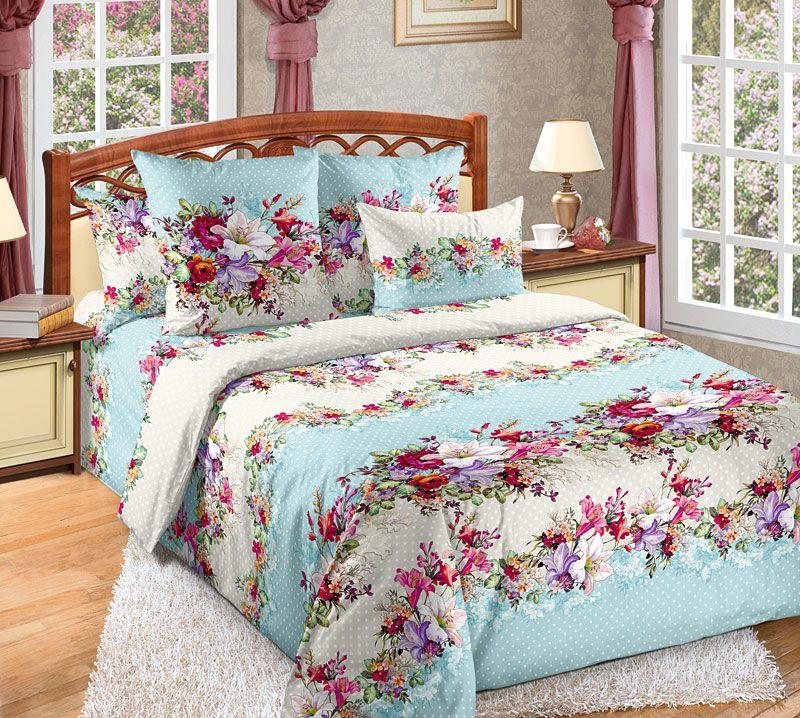 Комплект белья Текс Дизайн Кокетка, 2-спальный, наволочки 70x70. 2100Б комплект белья текс дизайн леопард 2 спальный наволочки 70x70 2100б