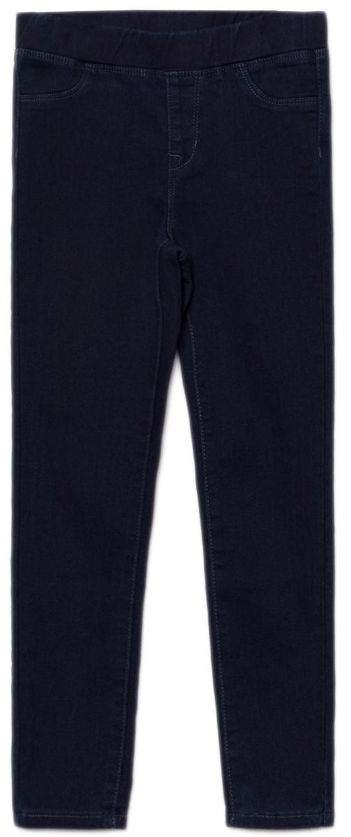 Джинсы для девочки Sela, цвет: темно-синий джинс. PJ-635/041-8122. Размер 140, 10 лет