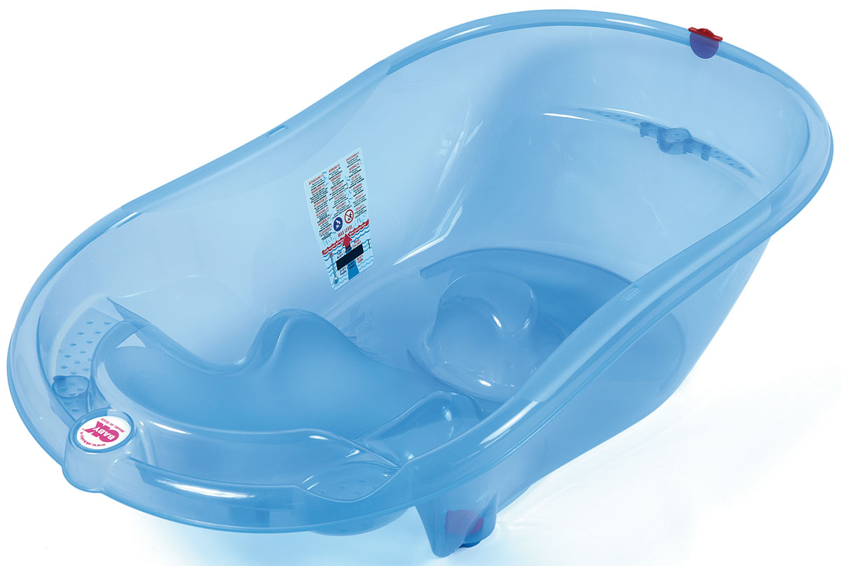 OkBaby Ванночка детская Onda Evolution голубой детские ванночки bebe jou ванночка для купания круглая мамин животик